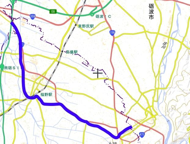 自転車道地図