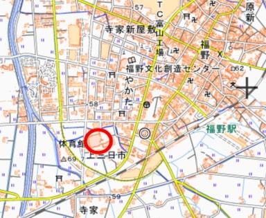 体育館地図