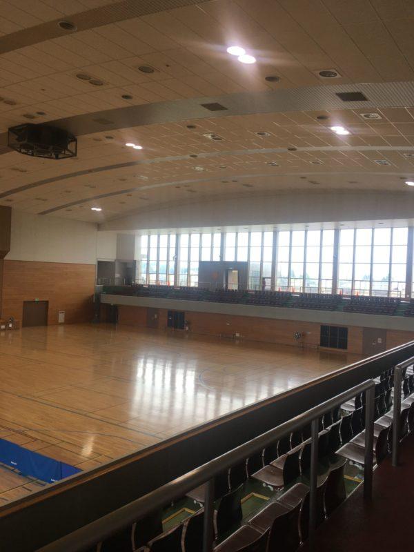 体育館内風景