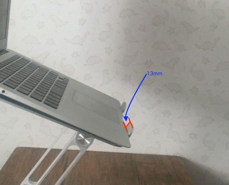 パソコン台 前固定