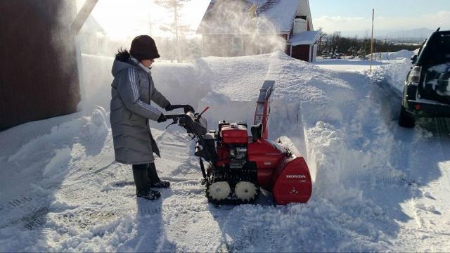 家庭用除雪機械